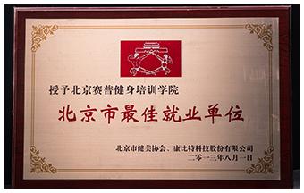 北京市最佳就业单位