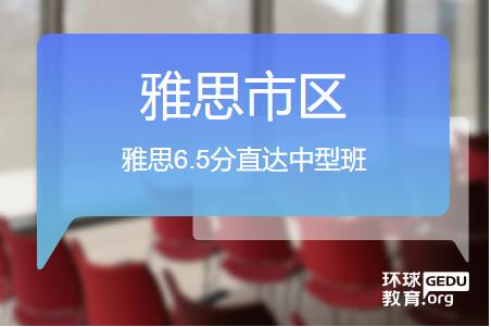 温州环球雅思6.5分直达中型班