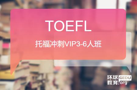 温州环球托福VIP3-6人班