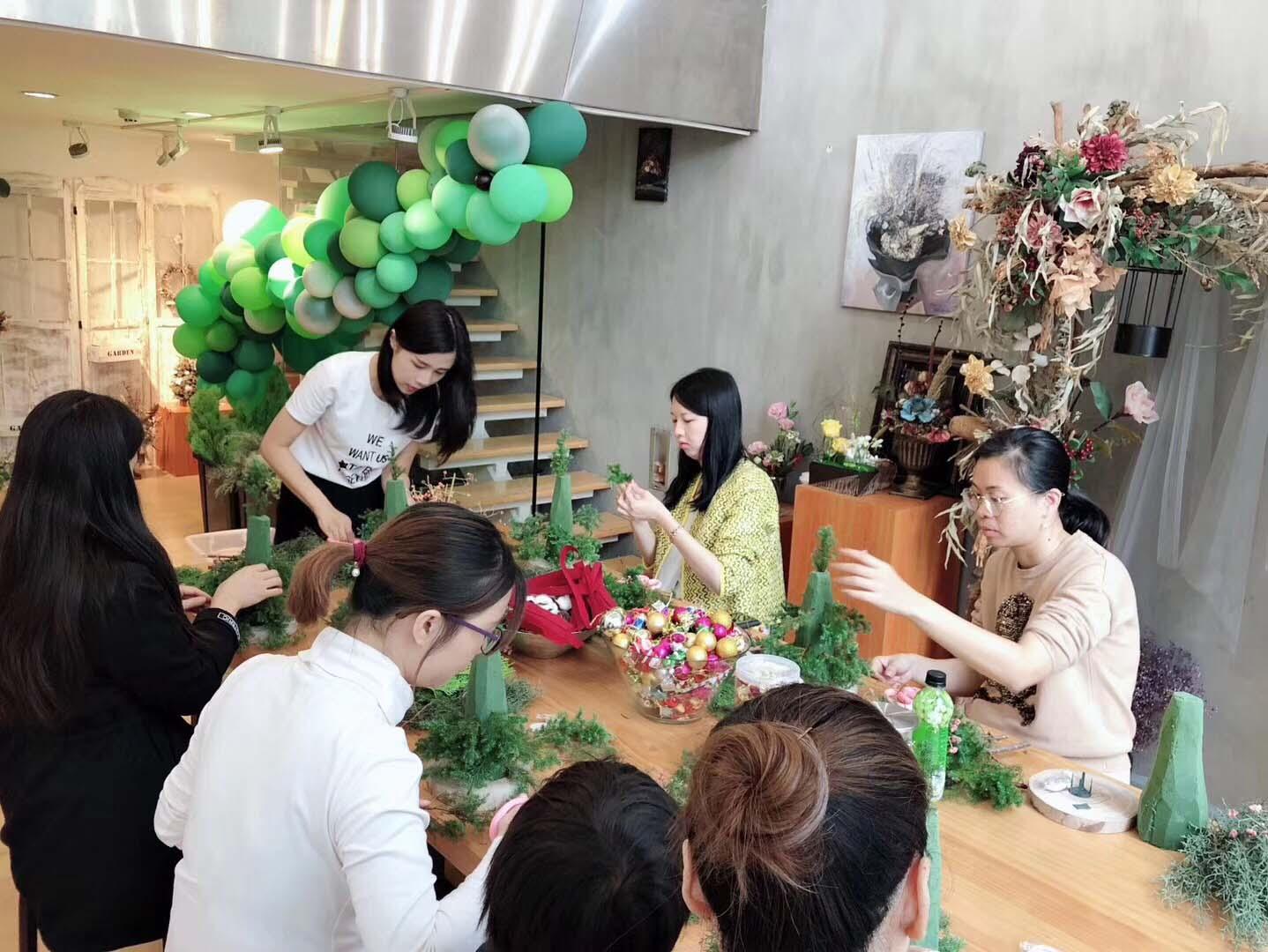 深圳十大无基础学插花师