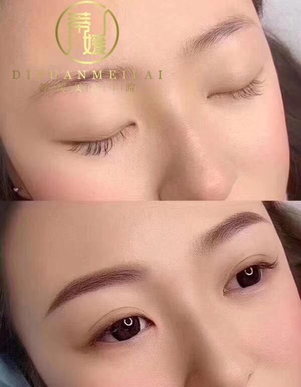 蒂媛美莱学校学习化妆美甲美容半永久培训哪里好